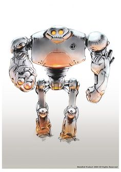 Robot Giant by metalkid.deviantart.com on @deviantART  ★ || CHARACTER DESIGN REFERENCES™ (https://www.facebook.com/CharacterDesignReferences & https://www.pinterest.com/characterdesigh) • Love Character Design? Join the #CDChallenge (link→ https://www.facebook.com/groups/CharacterDesignChallenge) Share your unique vision of a theme, promote your art in a community of over 50.000 artists! || ★