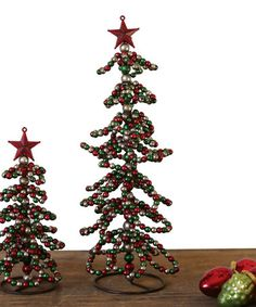 Another great find on #zulily! Metal Christmas Tree Décor #zulilyfinds