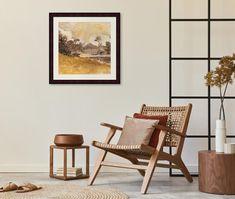espresso art in the living room Cream Art, Coffee Cream, Complimentary Colors, Color Trends, Favorite Color, Espresso, Accent Chairs, Living Room, Furniture