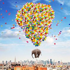 LIMITED PRINTS now available at www.nois7.com (link in profile). This NYC Elephant is in the collection too!