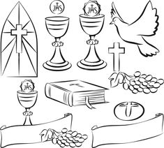 Template: First Communion Banner Template Intended For First Holy intended for First Holy Communion Banner Templates - Template Ideas First Communion Banner, First Holy Communion, Communion Banners, Catholic Communion, Communion Decorations, Cross Coloring Page, Coloring Pages, Printable Banner, Banner Template