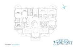 Location: 15 Dupont Court, Brookville, NY Square Footage: 30,000 Bedrooms & Bathrooms: 9 bedrooms & 16 bathrooms Price: $17,500,000 ($20,000,000 in 2015) This newly built limestone mega mansio