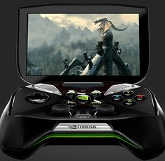 Project Shield: Handheld Gaming from Nvidia