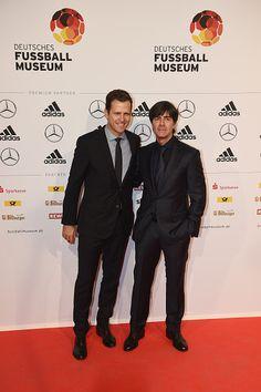 Oliver Bierhoff and Joachim Löw