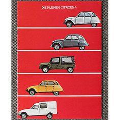 CITROËN 2CV DYANE MEHARI ACADIANE Österreich Prospekt/Brochure 16 Seiten RAR!