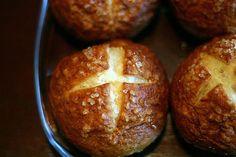 Loaded Potato Soup With Pretzel Bread Bowls