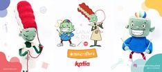 Amigurumi Challenge: haak je eigen Lana & Ovi amigurumi en doe mee! Mini, Halloween, Free, Amigurumi, Spooky Halloween