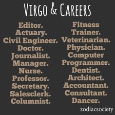 Accountant...of course!