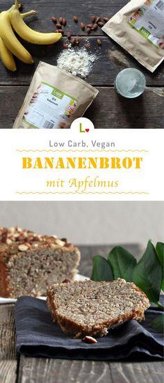 Bananaaa - Brot! Mit diesem Low Carb und Veganen Rezept habt ihr eine tolle Alternative für das Frühstück oder zum Snacken. Angerüht mit Apfelmus, Mandelmehl und Kokosmehl startet ihr somit gesund in den Tag.Mehr Rezepte mit unserem Lizza Mehlen findet ihr auf: https://lizza.de/pages/rezepte