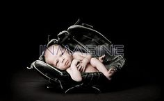 Infant photo baseball glove | Baby Sleeping In Baseball Glove Stock Photos / Pictures / Photography ...