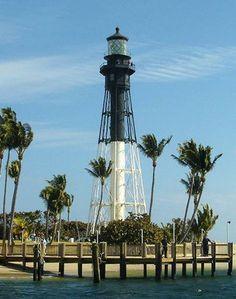 The Hillsboro Inlet Light in Hillsboro Beach, Florida, USA. Photo by Jordon Kalilich
