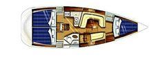7 great cruising yachts for less than £50,000 « YachtWorld UK Used Sailboats, Porsche Logo, Sailing, Yachts, Candle, Ship