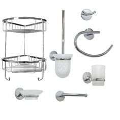A complete range of bathroom accessories and fixtures to house all your bathroom items including soap dispensers, toilet brush holders, tumblers and light pulls alongside complete bathroom accessory packs. Complete Bathrooms, Light Pull, Soap Dispensers, Toilet Brush, Shower Enclosure, Frosted Glass, Bathroom Accessories, Plumbing, Chrome