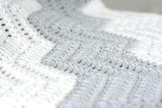 Large Stripe Color Block Crochet Chevron by TheSweeterSideMom