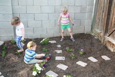 Creating a Children's Garden - Five Little Homesteaders