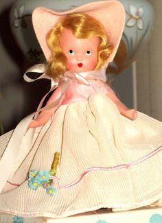 """Mary Little Maid"", Nancy Ann Storybook doll"