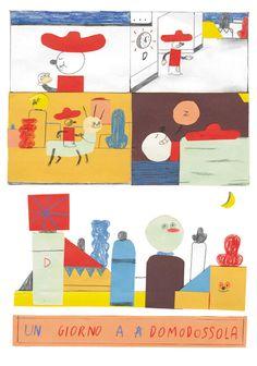 Domodossola - Edward Cheverton | Illustration
