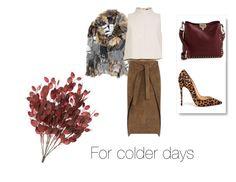 """#fall#cold"" by slounis on Polyvore featuring moda, Ashish, TIBI, Joseph, Christian Louboutin i Valentino"