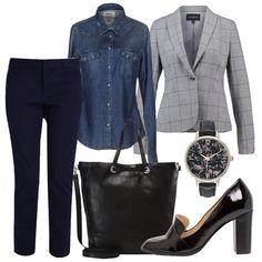 Outfit Glamour anche in ufficio