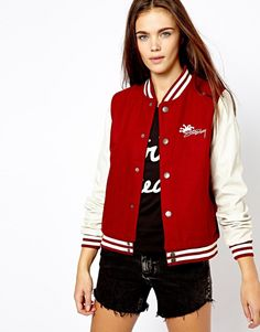 Stussy Baseball Jacket - Now on http://ootdmagazine.com/store/product/stussy-baseball-jacket/ #fashion