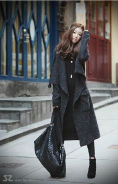 Autumn new arrival 2012 women's  batwing sleeve  long  sweaters coat  female thick sweater cotton keeping warm