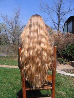 long blonde hair<3