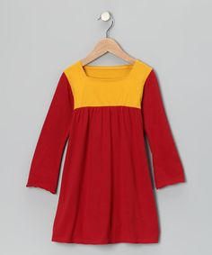 Simple yet expressive, this organic cotton dress is cast in color block, crayon-box hues. A babydoll silhouette borrows from the past for a fresh take on the girlish classic. Super comfortable and easy to dress up or down, it'll keep little ladies looking sharp and feeling great from playground tag to fancy family dinners.100% organic cottonMachine wash; ...