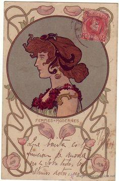 1901 Art Nouveau poster