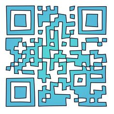 Loving http://qrphoria.com/ - yet another cool QR code creator. Like this funky one! - only downside is that you can't create them on the iPad (just consume them) :/