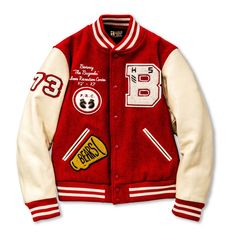 All items Joe McCoy Varsity Jacket / Brunswick Varsity Jacket High School, Varsity Jacket Outfit, Varsity Letterman Jackets, Letterman Jacket Patches, Senior Jackets, Prom Jackets, Fashion Wear, Mens Fashion, Cheap Fashion