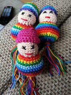 statement; rainbowdoll-keychain; humanrights