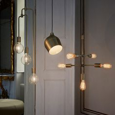 At Bolia New Scandinavian Design, creativity and quality is the starting point for everything we do. Brass Pendant Light, Pendant Lamp, Lounge, Retro Lampe, Wall Lights, Ceiling Lights, Deco Design, Krystal, Bohemian Decor