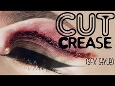 How to do a cut crease: SFX Style - YouTube