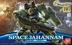 BANDAI SPACE JAHANNAM 1/144 HG MASS PRODUCTION MODEL KIT Reconguista In G F/S…