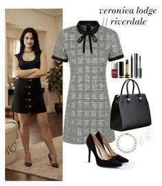 Designer Clothes, Shoes & Bags for Women Preppy Outfits, Girly Outfits, Classy Outfits, Cute Outfits, Fashion Outfits, Outfits Riverdale, Riverdale Fashion, Veronica Lodge Fashion, Veronica Lodge Outfits