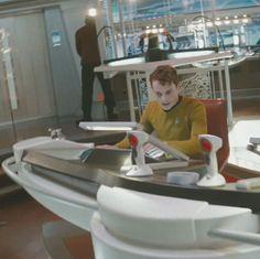 Pavel Chekov interpretado por Anton Yelchin en Star Trek
