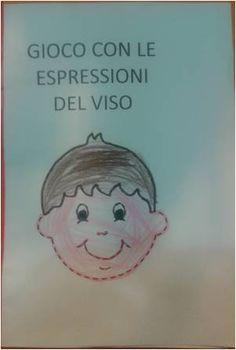 Schede  sulle espressioni delle emozioni