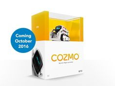 Cozmo is coming home in October! Pre-order the coolest robot ever invented from Anki