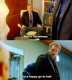 House M. My favorite House greeting. I miss House. My favorite person. Gregory House, Tv Quotes, Movie Quotes, Funny Quotes, Wisdom Quotes, Best Tv Shows, Favorite Tv Shows, Favorite Person, House Md Funny