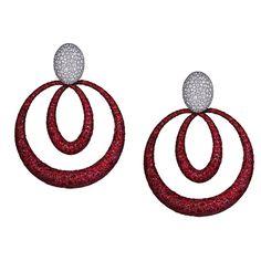 Earrings by Jacob & Co.