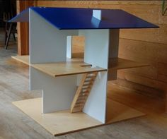 Bid/Buy/Build: The Creative Playthings Slot-Together Dollhouse Is By Roger Limbrick. - Daddy Types