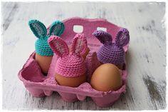 .: Gehaakte eierwarmers + gratis patroon !!