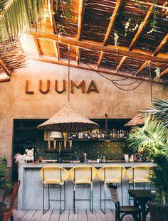 LUUMA, un restaurante de alma hippie #restaurantdesign