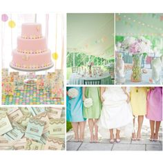 Life is a Sunset: Wedding Wednesday | Pretty Pastels