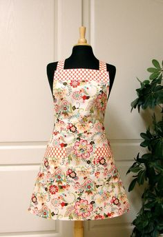 When I learn how to sew, an apron will be the first thing on my list!