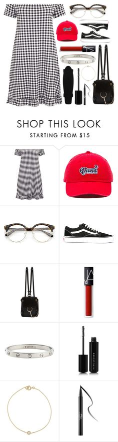 """""""❤️⛓❤️⛓"""" by korareay2 on Polyvore featuring Vans, Chloé, NARS Cosmetics, Cartier, Marc Jacobs and Kat Von D"""