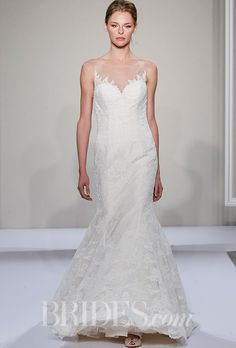 Brides: Dennis Basso for Kleinfeld Wedding Dresses - Fall 2016 - Bridal Runway Shows - Brides.com