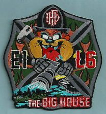 HARTFORD FIRE DEPARTMENT CONNECTICUT ENGINE 1 LADDER 6 COMPANY PATCH