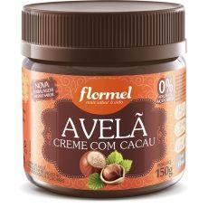 Creme de Avelã com Cacau Flormel.