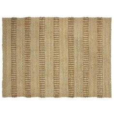 Check out this item at One Kings Lane! Charlotte Jute Rug, Natural